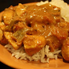 African Peanut and Ginger Chicken
