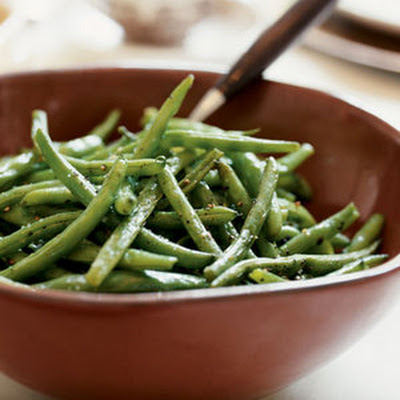 Oven-Roasted Green Beans