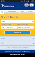Screenshot of Michelin Hotels