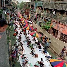 Kaleidoscope by Prasanta Kumar Banerjee - City,  Street & Park  Street Scenes ( Urban, City, Lifestyle )