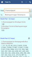 Screenshot of Bangalore BMTC Info