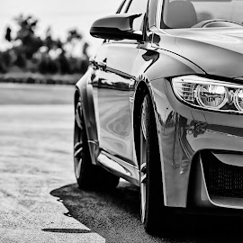 BMW 2104 in Black & White by Matt Stern - Transportation Automobiles ( car, blackandwhite, matt stern photography, black and white, 2014, automobile, south africa, bmw, m3,  )