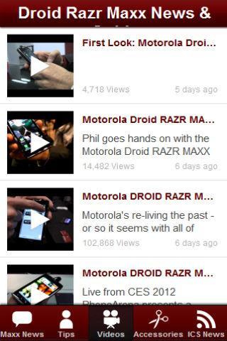 新聞必備APP下載|Droid Razr Maxx News & Tips 好玩app不花錢|綠色工廠好玩App