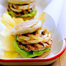 Grilled Turkey and Zucchini Burgers