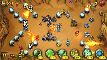 Screenshot of Fieldrunners HD