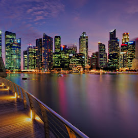 Skyline @ by Ken Goh - City,  Street & Park  Skylines