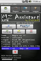 Screenshot of MZ Assistant LITE