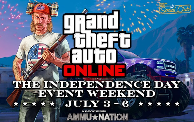 Rockstar details Independence Day event weekend for GTA Online