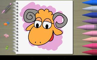 Screenshot of Kids' Paint Pro