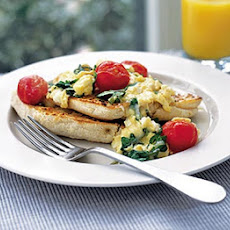 Cheese & Watercress Scramble