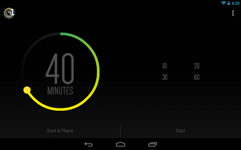 Sleep Timer (Musik aus) Screenshot