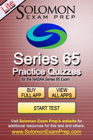 Series 65 Practice Exams Lite