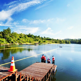 lake by Sigit Irmawan - Landscapes Mountains & Hills ( IMM, 15thIFRC2012, waterrescue )