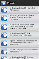 Screenshot of İSG Katip