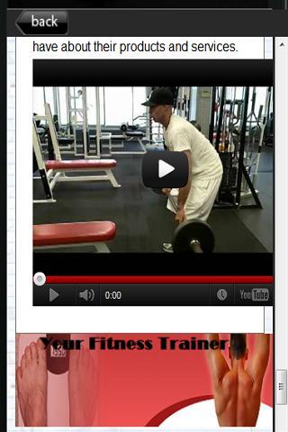 【免費健康App】Your Fitness Trainer-APP點子