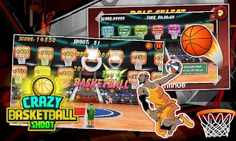 Screenshot of Crazy Basketball Shoot