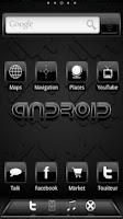 Screenshot of ADW Theme Black Gloss2