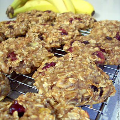 Banana Oat Breakfast Cookies