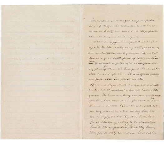 First page from the Hay Draft, Courtesy of the Library of Congress