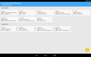 Screenshot of World Korfball