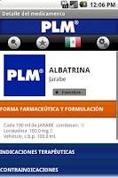 Screenshot of PLM Medicamentos