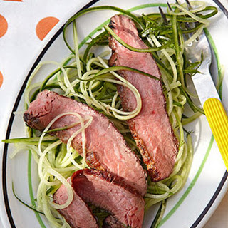 Steak & Cucumber Salad