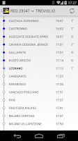 Screenshot of Italy railway stations