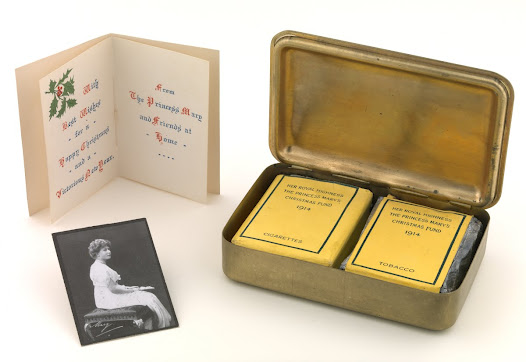 Princess Mary's Gift to Soldiers Christmas 1914