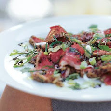 Seared Beef Tenderloin with Cilantro and Mint
