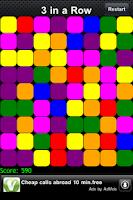 Screenshot of 3 Blocks  in a Row