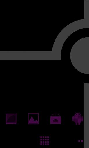 Minimalist_Purple - ADW Theme