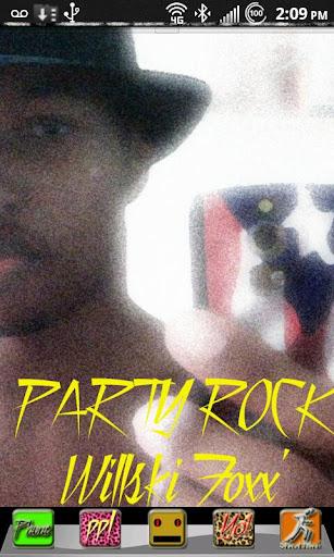 Go Launcher Theme Party Rock