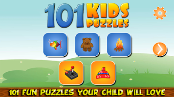 Screenshot of 101 Kids Puzzles