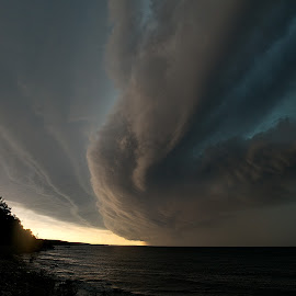 Hands of God by Mike Woodard - Landscapes Weather ( clouds, weather, storm )