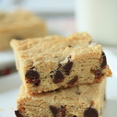 Walnut Chocolate Blondies
