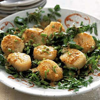 Scallop Sauté with Miso Sauce