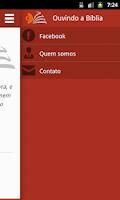 Screenshot of Ouvindo a Bíblia
