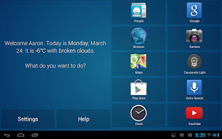 Screenshot of Crescendo Launcher