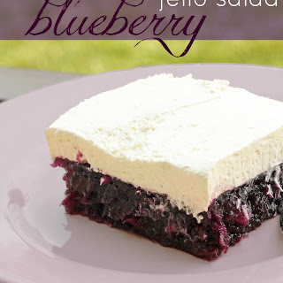 Blueberry Jell-O Salad
