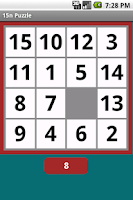 Screenshot of 15n Puzzle Game