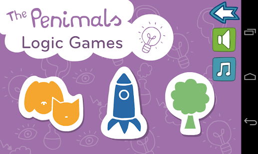 The Penimals Logical Games - screenshot