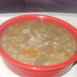Creamy Beef Barley Soup Recipes