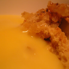 Apple and Marmalade Custard Pudding