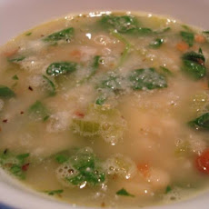 Italian White Bean and Spinach Soup