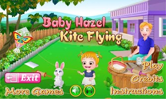 Screenshot of Baby Hazel Kite Flying