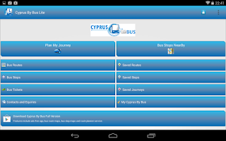 Screenshot of Cyprus By Bus Lite