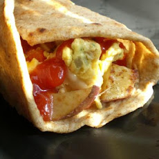 Grilled Breakfast Burrito