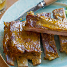 Honey Mustard Spare Ribs