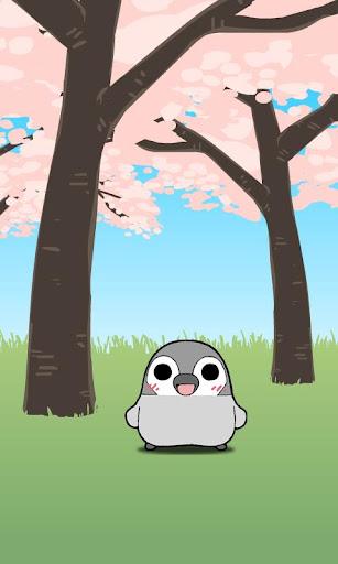 ぺそぎんライブ壁紙「桜」 春・人気の無料ペンギン待受けアプリ