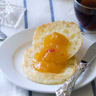 Gluten Free Yuca Breads with Spicy Sugar Free Mango Marmalade